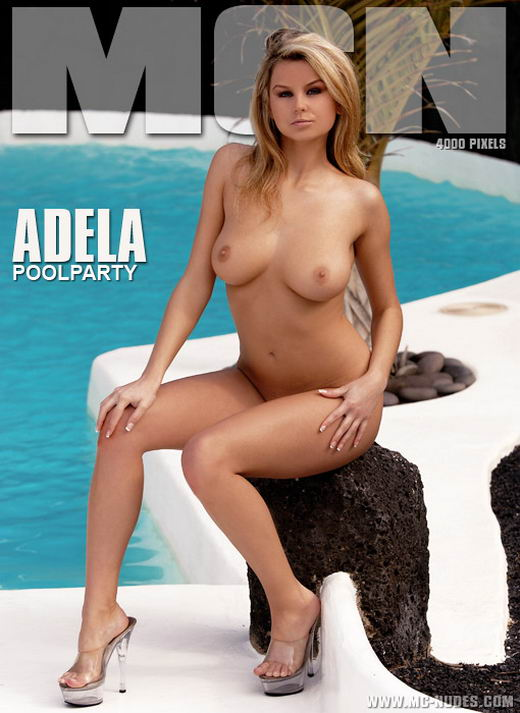 Adela in Poolparty gallery from MC-NUDES