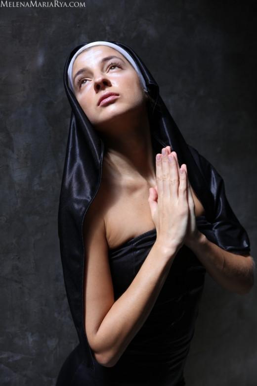 Melena Maria Rya in Ave Maria gallery from MELENA MARIA RYA