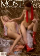 Julia A & Valentina C in Two Nymphs 05 gallery from METART ARCHIVES