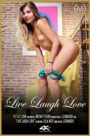 Lola Krit in Live Laugh Love video from METMOVIES by Leonardo
