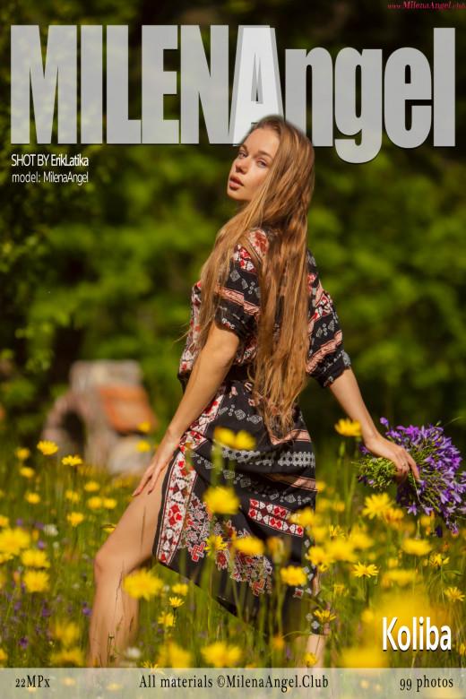 Milena Angel in Koliba gallery from MILENA ANGEL by Erik Latika