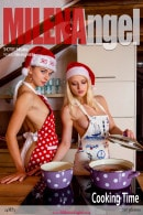 Milena Angel & Nika in Cooking Time gallery from MILENA ANGEL by Erik Latika