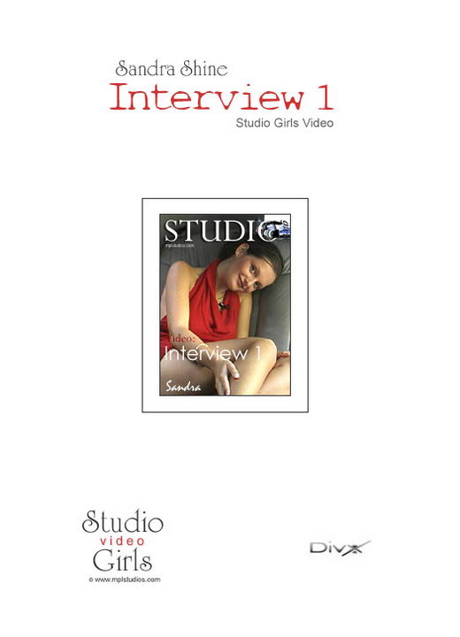 Sandra Shine in Interview 1 video from MPLSTUDIOS