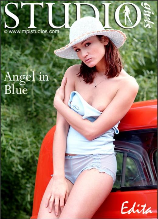 Edita in Angel In Blue gallery from MPLSTUDIOS by Chris Danneffel