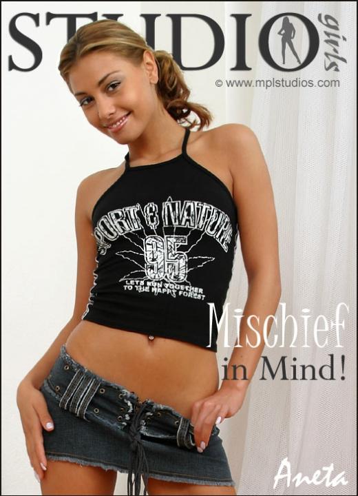 Aneta Keys in Mischief In Mind gallery from MPLSTUDIOS