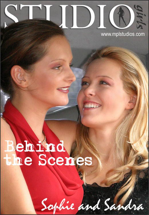 Sophie And Sandra in Behind The Scenes gallery from MPLSTUDIOS