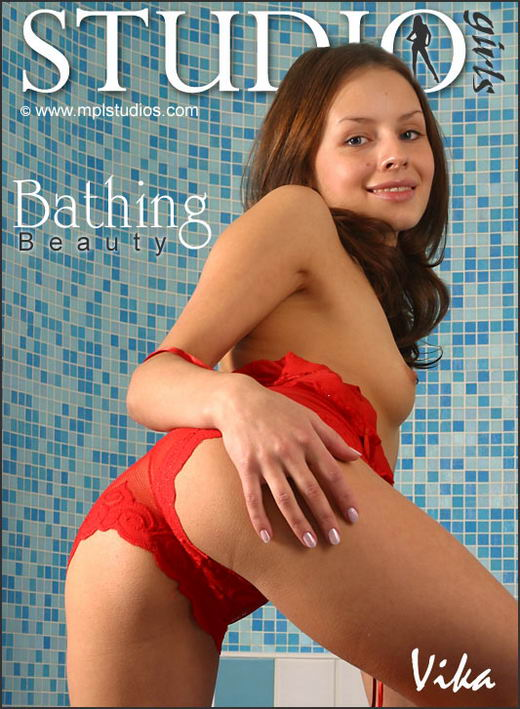 Vika in Bathing Beauty gallery from MPLSTUDIOS by Alexander Fedorov