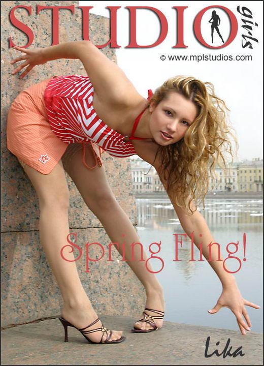 Lika in Spring Fling gallery from MPLSTUDIOS by Alexander Fedorov