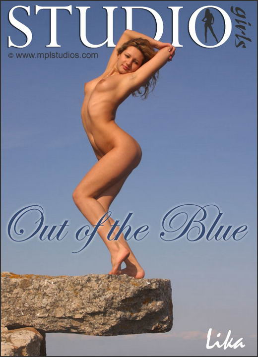 Lika in Out Of The Blue gallery from MPLSTUDIOS by Alexander Fedorov