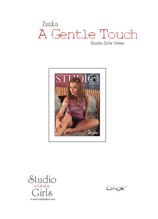 Zuzka in A Gentle Touch video from MPLSTUDIOS