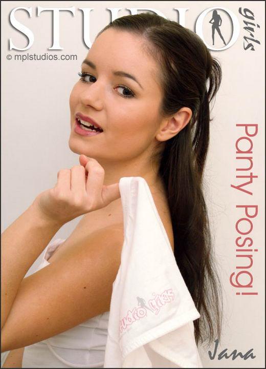 Jana in Panty Posing gallery from MPLSTUDIOS by Chris Danneffel