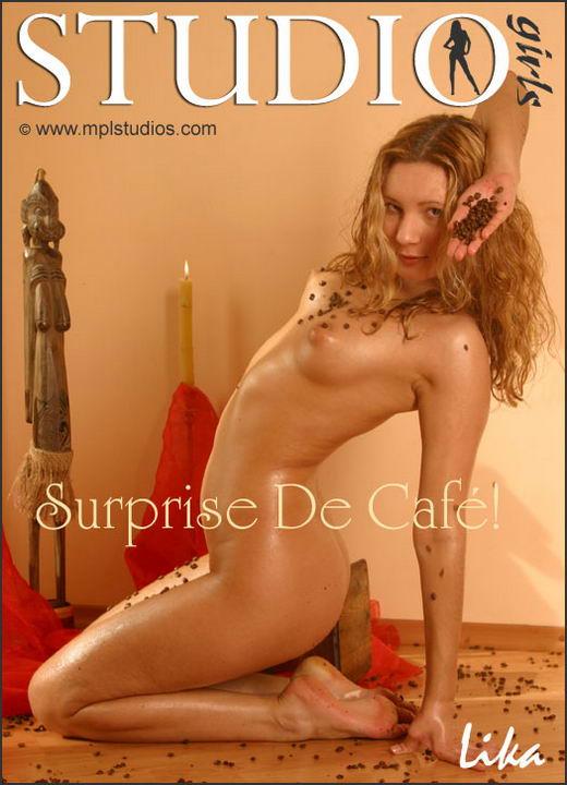 Lika in Surprise De Cafe gallery from MPLSTUDIOS