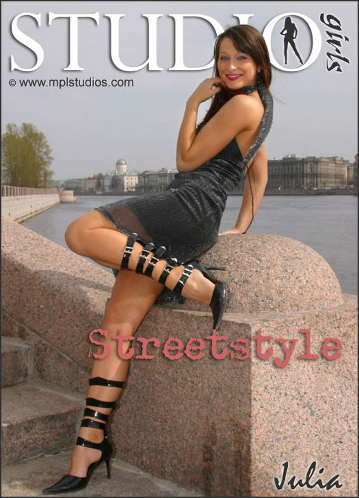 Julia in Streetstyle gallery from MPLSTUDIOS by Alexander Fedorov
