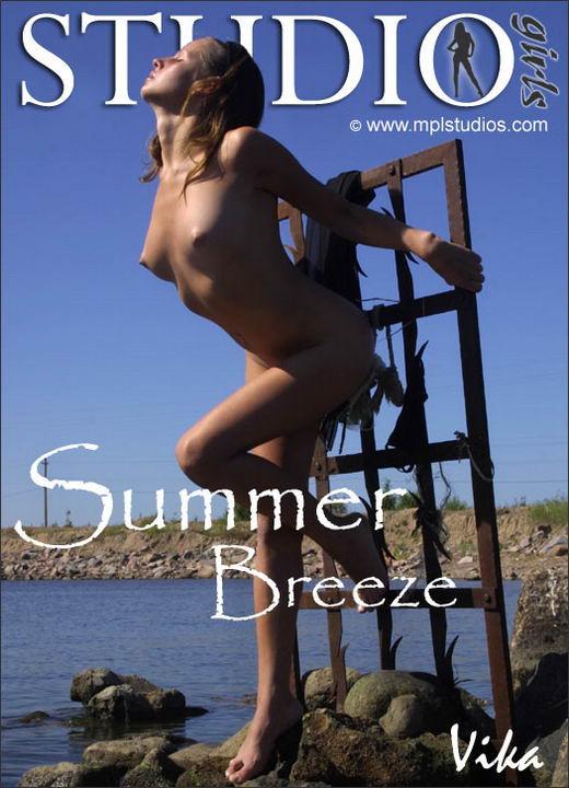 Vika in Summer Breeze gallery from MPLSTUDIOS by Alexander Fedorov