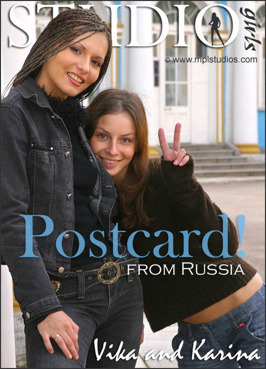 Vika And Karina in Postcard From Russia gallery from MPLSTUDIOS by Alexander Fedorov