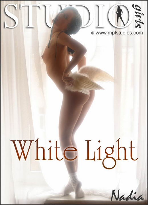 Nadia in White Light gallery from MPLSTUDIOS by Alexander Fedorov