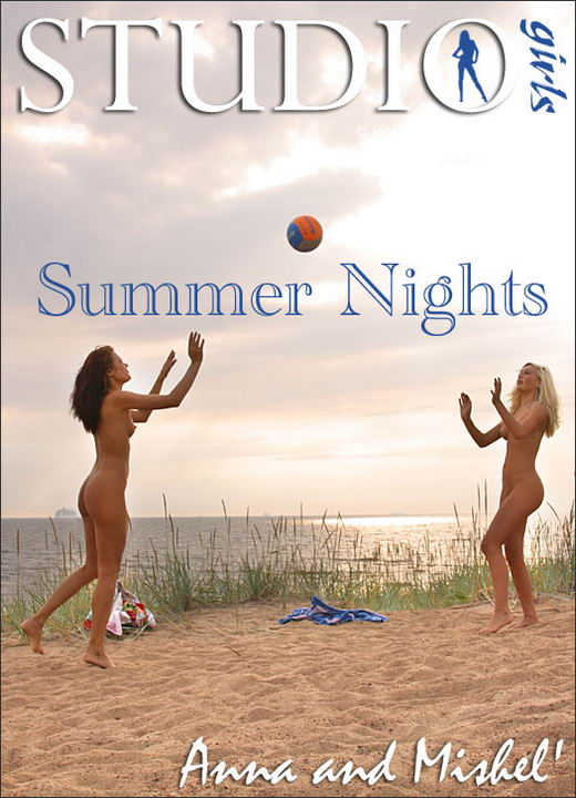 Anna And Mishel in Summer Nights gallery from MPLSTUDIOS by Alexander Fedorov