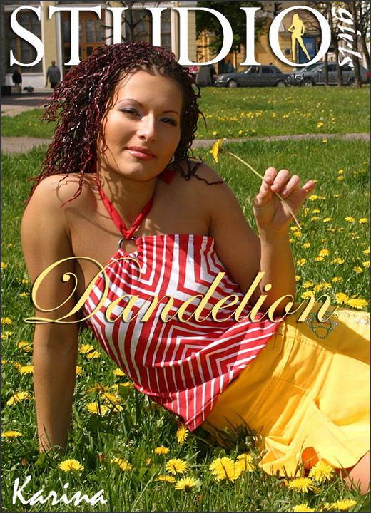 Karina in Dandelion gallery from MPLSTUDIOS by Alexander Fedorov