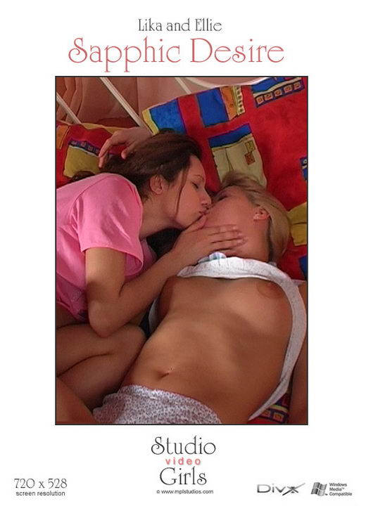 Lika And Ellie in Sapphic Desire video from MPLSTUDIOS by Alexander Fedorov