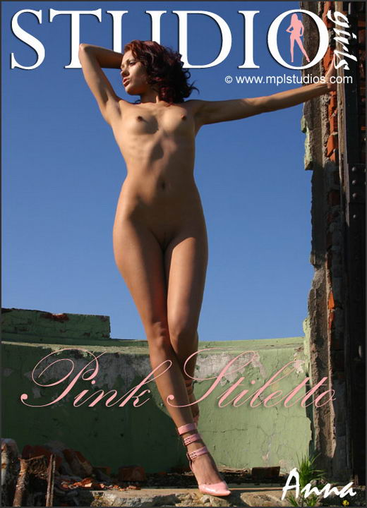 Anna in Pink Stiletto gallery from MPLSTUDIOS by Alexander Fedorov