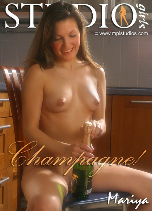 Mariya in Champagne gallery from MPLSTUDIOS by Alexander Fedorov