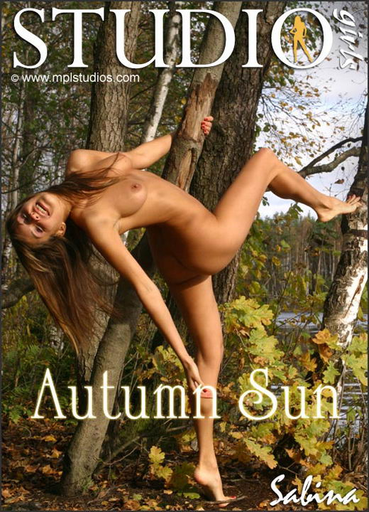 Sabina in Autumn Sun gallery from MPLSTUDIOS by Alexander Fedorov