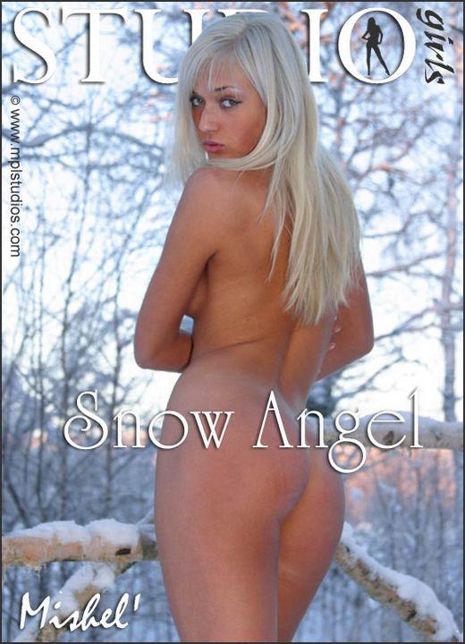 Mishel in Snow Angel gallery from MPLSTUDIOS by Alexander Fedorov