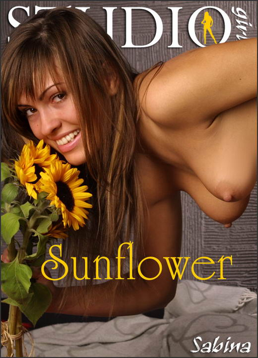 Sabina in Sunflower gallery from MPLSTUDIOS by Alexander Fedorov