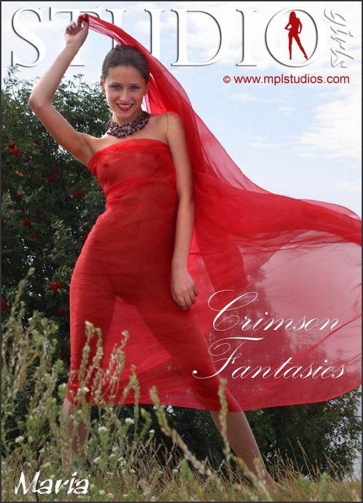 Maria in Crimson Fantasies gallery from MPLSTUDIOS by Alexander Fedorov