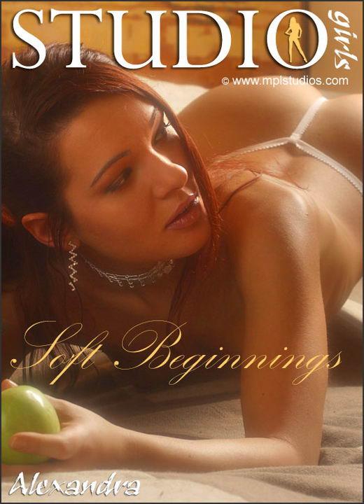 Alexandra in Soft Beginnings gallery from MPLSTUDIOS by Alexander Fedorov