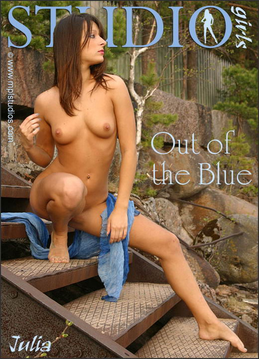 Julia in Out Of The Blue gallery from MPLSTUDIOS by Alexander Fedorov
