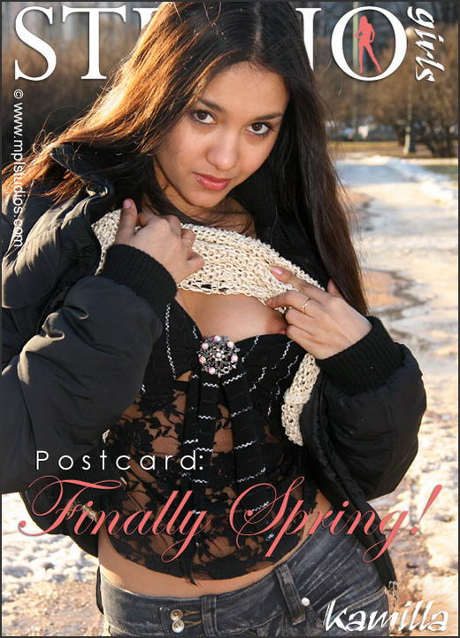 Kamilla in Finally Spring gallery from MPLSTUDIOS by Alexander Fedorov