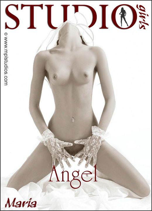 Maria in Angel gallery from MPLSTUDIOS by Alexander Fedorov