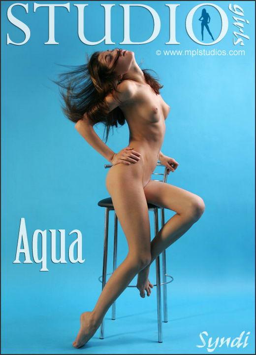 Syndi in Aqua gallery from MPLSTUDIOS by Alexander Fedorov