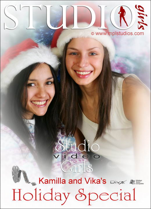 Vika And Kamilla in Holiday Special gallery from MPLSTUDIOS by Alexander Fedorov