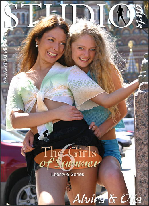 Alvira And Olia in Girls of Summer gallery from MPLSTUDIOS by Alexander Fedorov