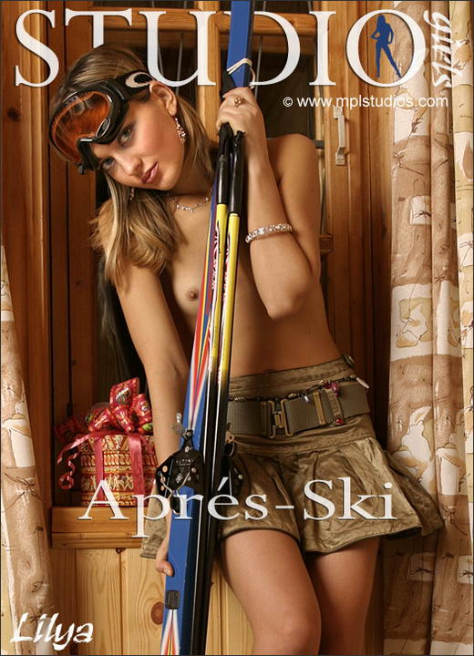 Lilya in Apres-ski gallery from MPLSTUDIOS by Alexander Fedorov