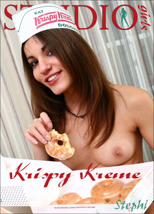 Stephi in Krispy Kreme gallery from MPLSTUDIOS by Diana Kaiani