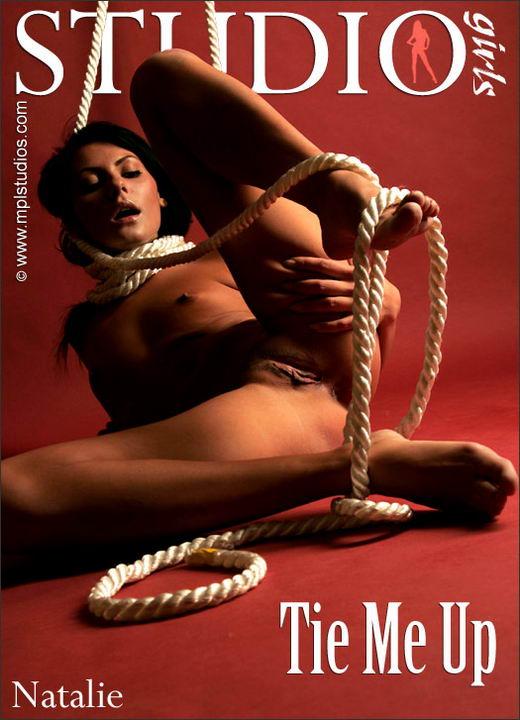 Natalie in Tie Me Up gallery from MPLSTUDIOS by Alexander Fedorov
