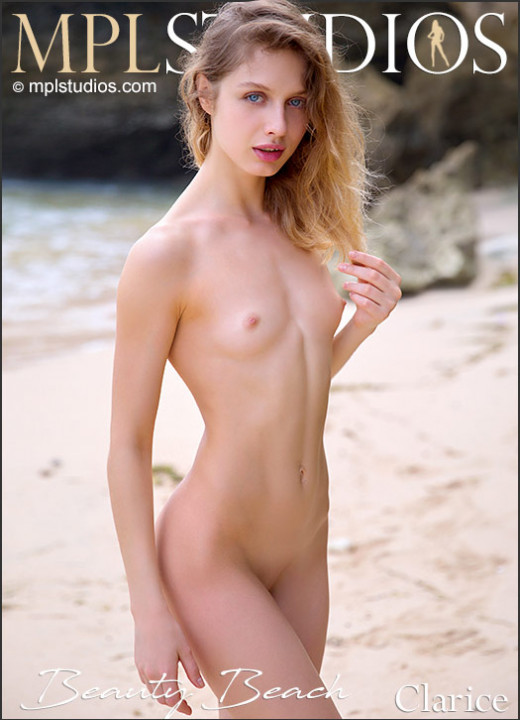 Clarice in Beauty Beach gallery from MPLSTUDIOS by Fredy Riger