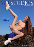 Leona Mia in True Blue gallery from MPLSTUDIOS by Thierry