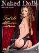 Sharon in Feel the Difference gallery from MY NAKED DOLLS by Tony Murano