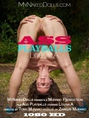 Louisa A in Ass Playballs video from MY NAKED DOLLS by Tony Murano