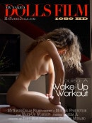 Louisa A in Wake-Up Workout video from MY NAKED DOLLS by Tony Murano