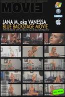 Blue Backstage video