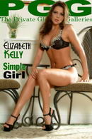 Elizabeth Kelly in Simple Girl gallery from MYPRIVATEGLAMOUR