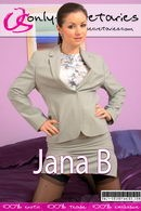 Jana B in  gallery from ONLYSECRETARIES COVERS