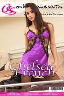 Chelsea French in  gallery from ONLYSILKANDSATIN COVERS