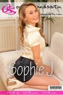 Sophie J in  gallery from ONLYSILKANDSATIN COVERS