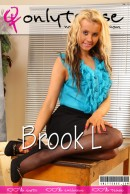 Brook L in  gallery from ONLYTEASE COVERS
